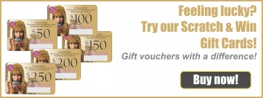 Scratch and Win Day Spa Vouchers
